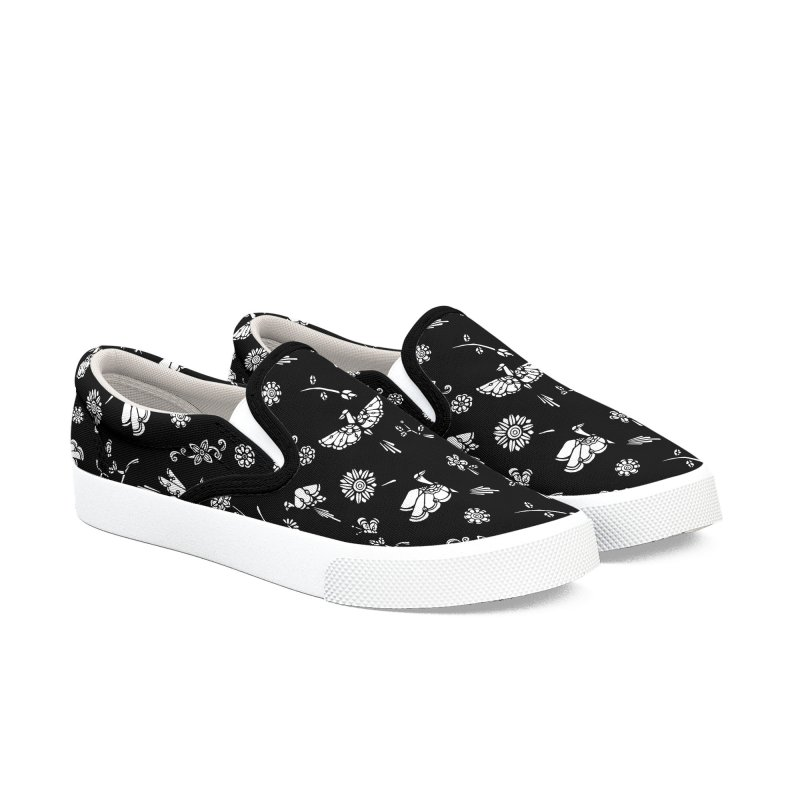 Black birds Women's Shoes by ninhol's Shop