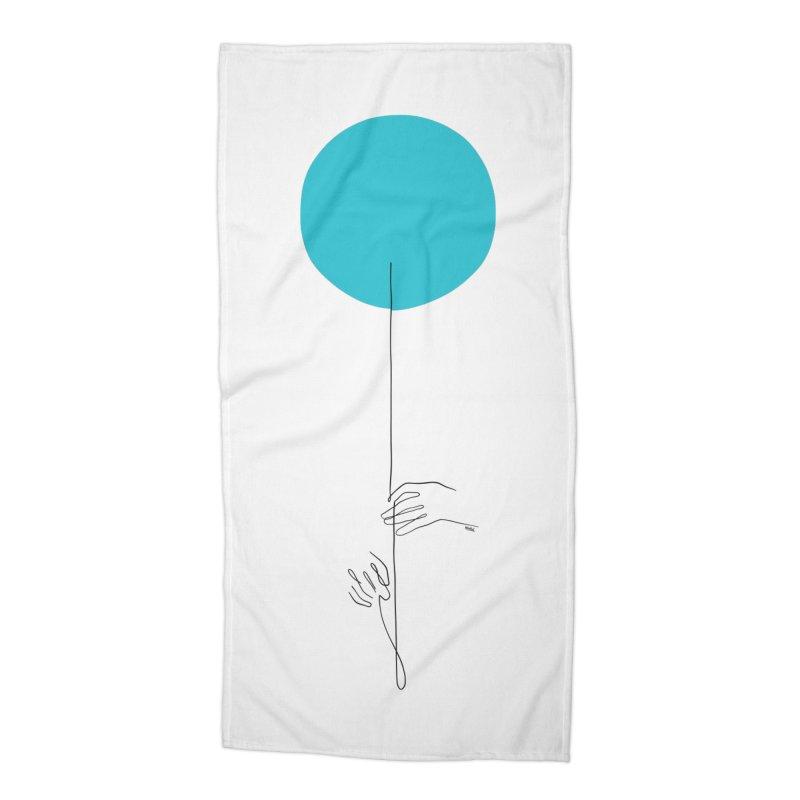 Balloon Accessories Beach Towel by ninhol's Shop