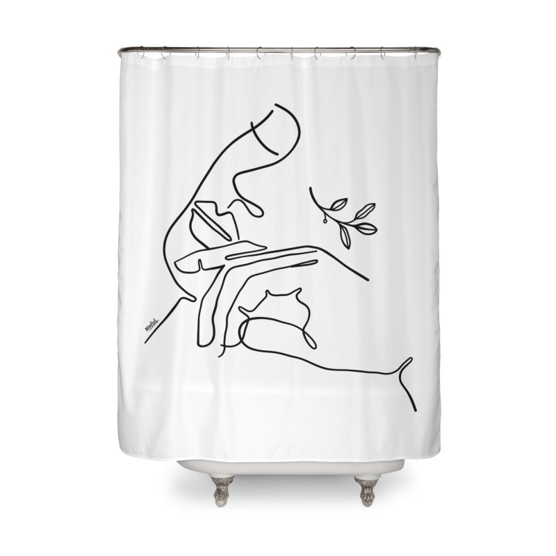 In my nature Home Shower Curtain by ninhol's Shop