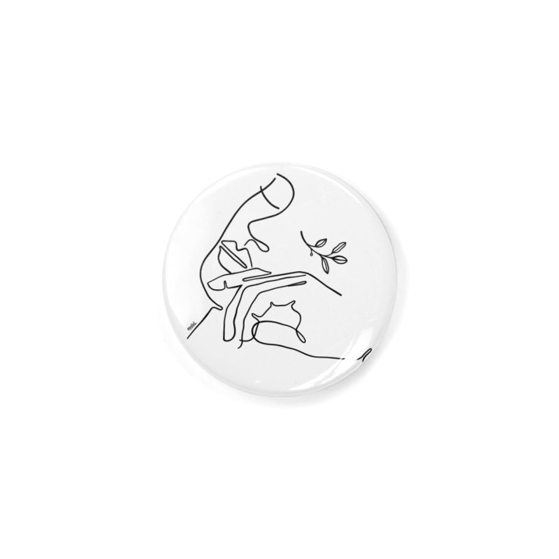 In my nature Accessories Button by ninhol's Shop