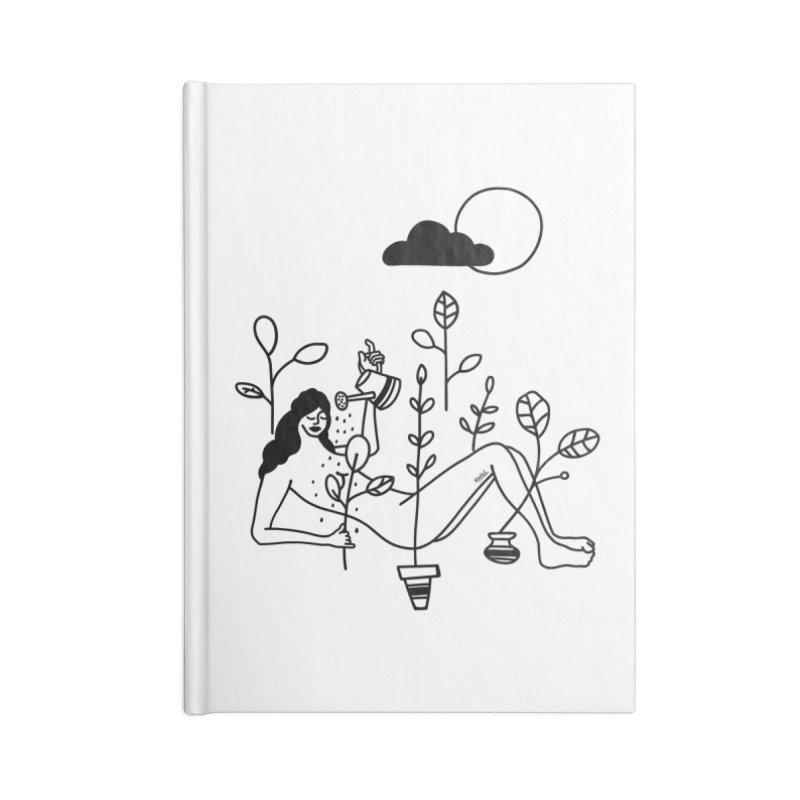 Shower Accessories Notebook by ninhol's Shop