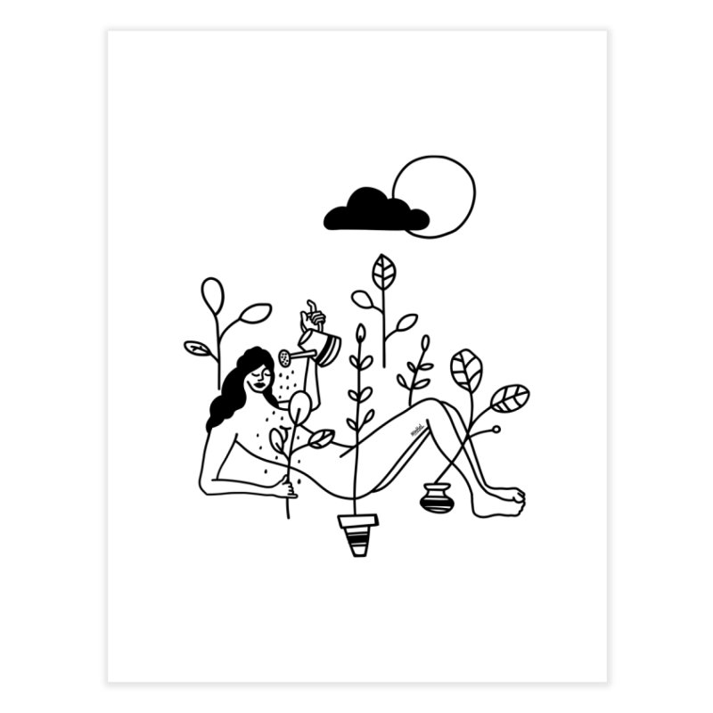 Shower Home Fine Art Print by ninhol's Shop