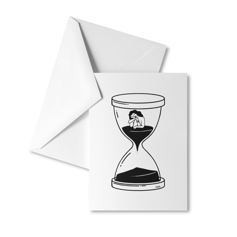 The time is now Accessories Greeting Card by ninhol's Shop