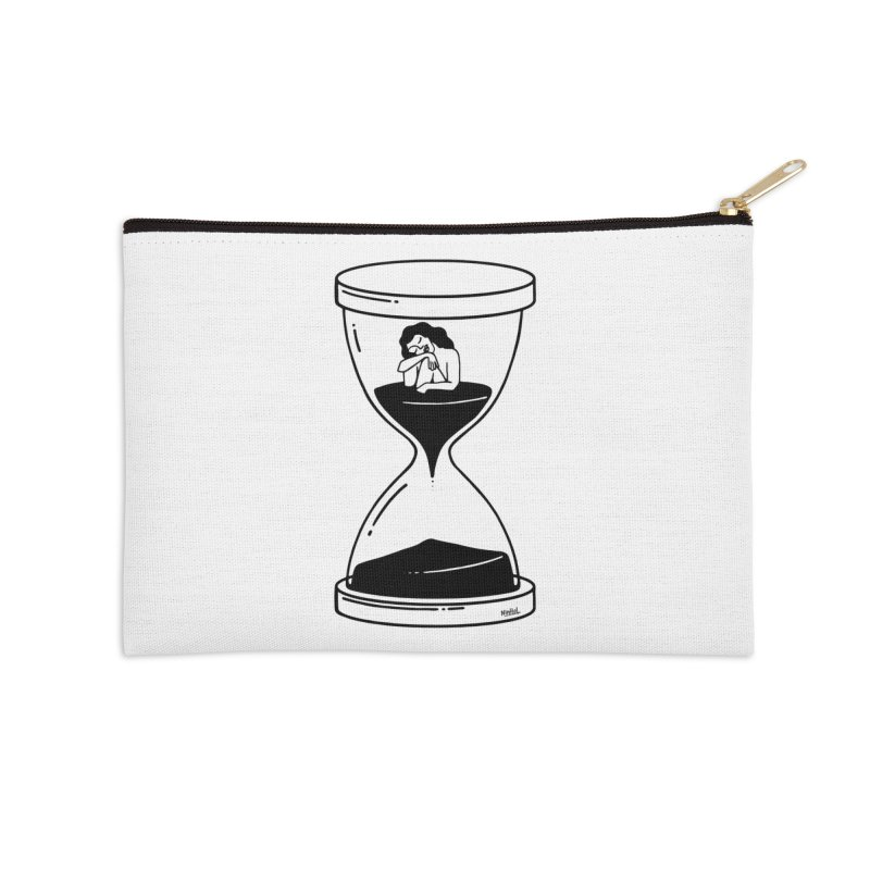 The time is now Accessories Zip Pouch by ninhol's Shop