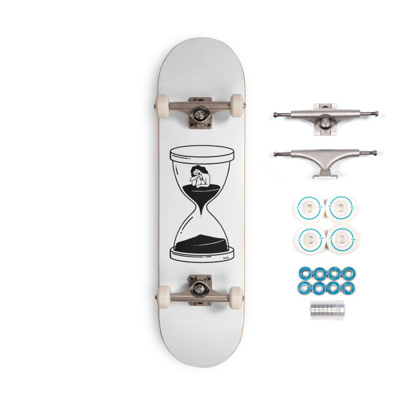 The time is now Accessories Skateboard by ninhol's Shop