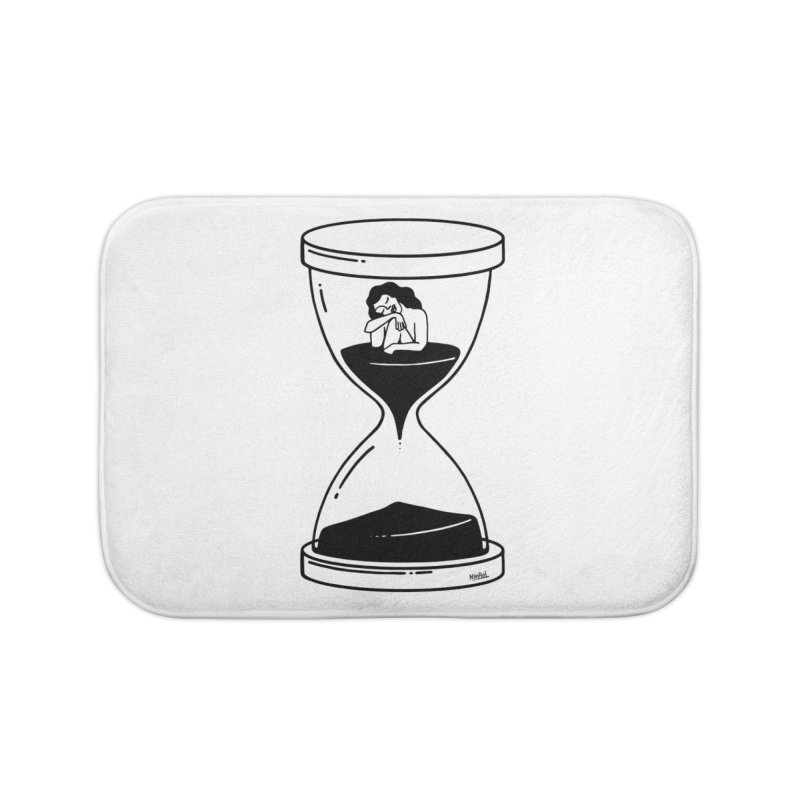 The time is now Home Bath Mat by ninhol's Shop