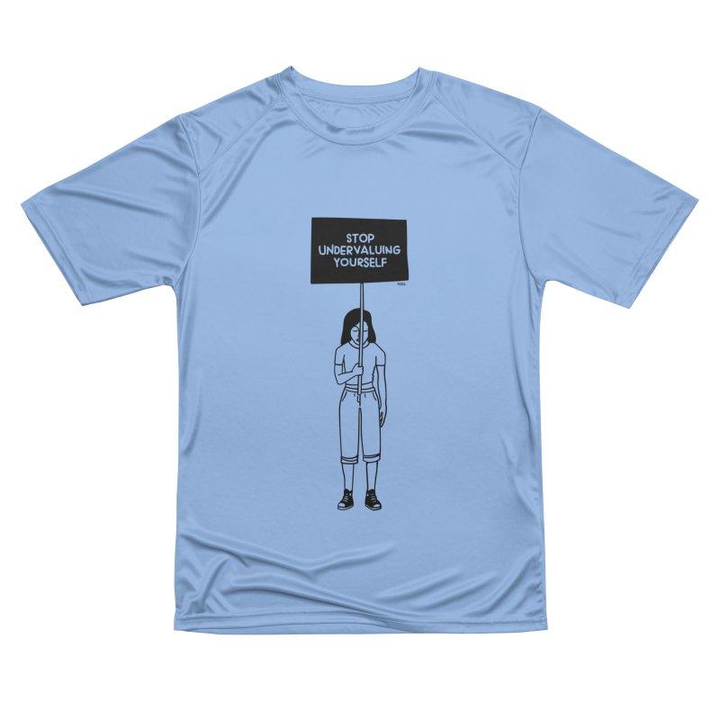 Stop undervaluing yourself Men's T-Shirt by ninhol's Shop