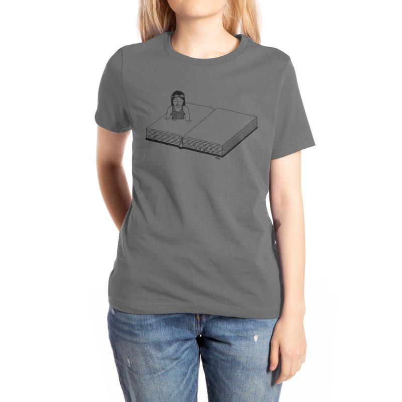 Inside the book Women's T-Shirt by ninhol's Shop
