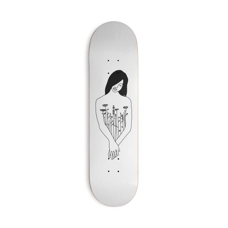 Plant lady Accessories Skateboard by ninhol's Shop