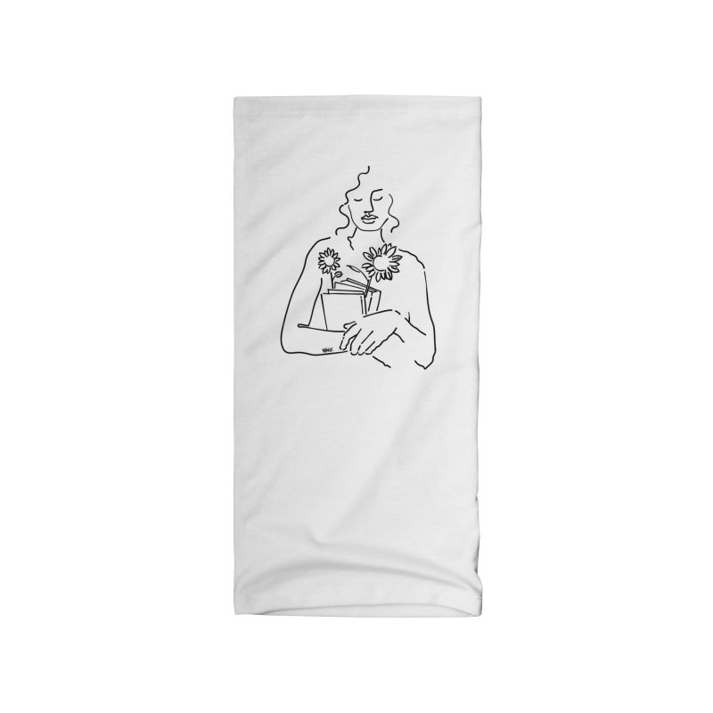 Books and flowers Accessories Neck Gaiter by ninhol's Shop