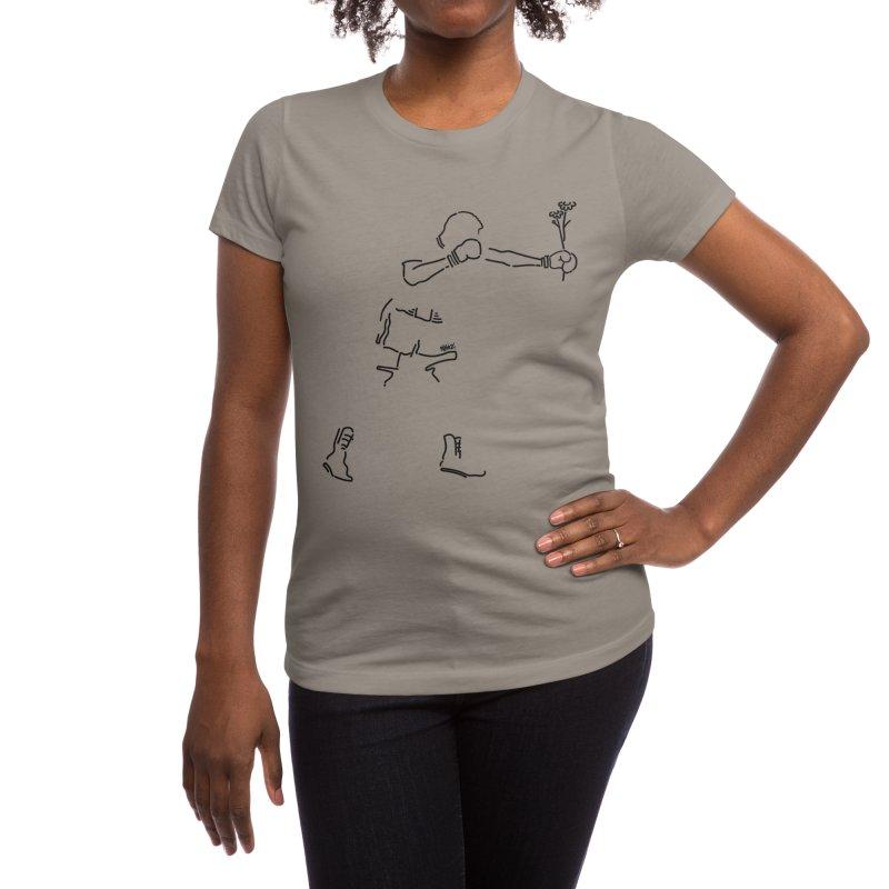 Give flowers Women's T-Shirt by ninhol's Shop