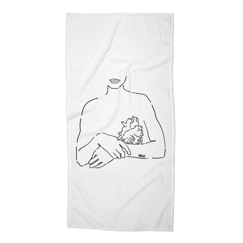 Take careful of yourself Accessories Beach Towel by ninhol's Shop
