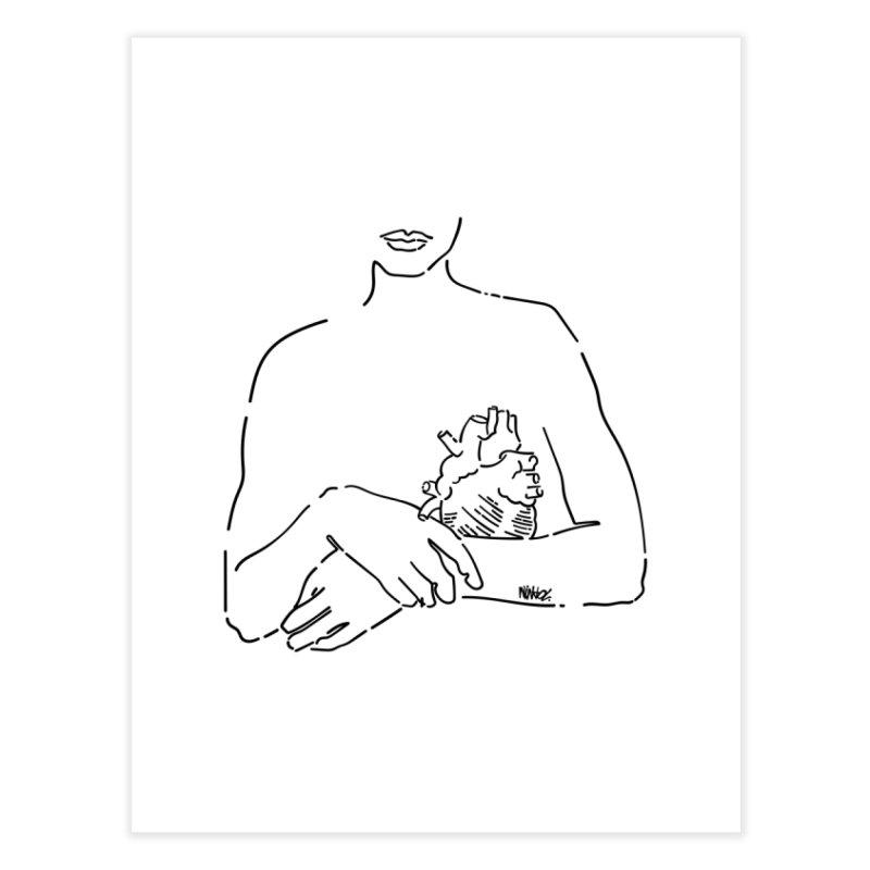 Take careful of yourself Home Fine Art Print by ninhol's Shop