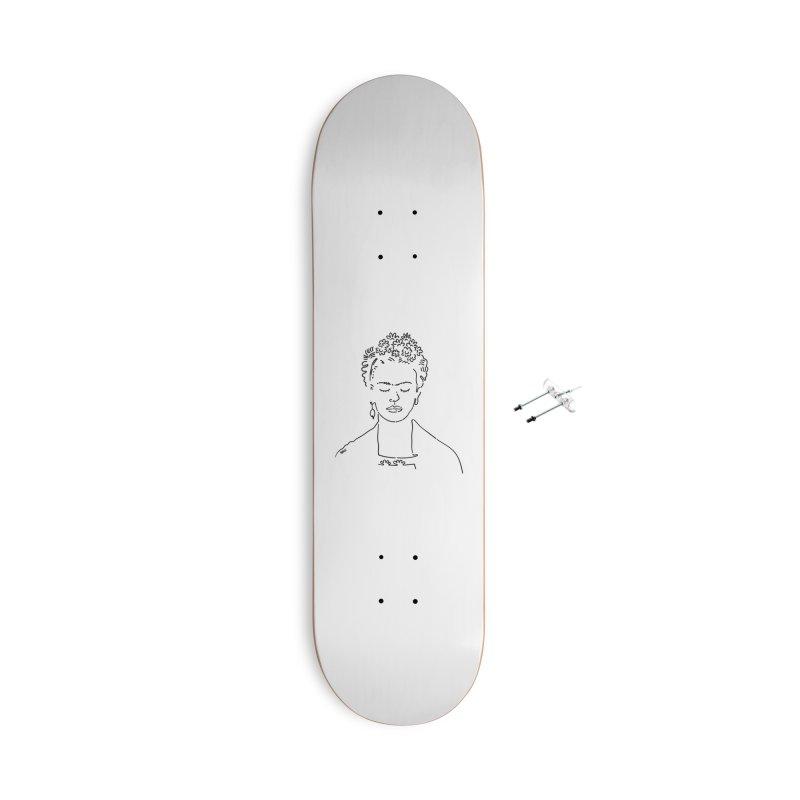 Frida Accessories Skateboard by ninhol's Shop