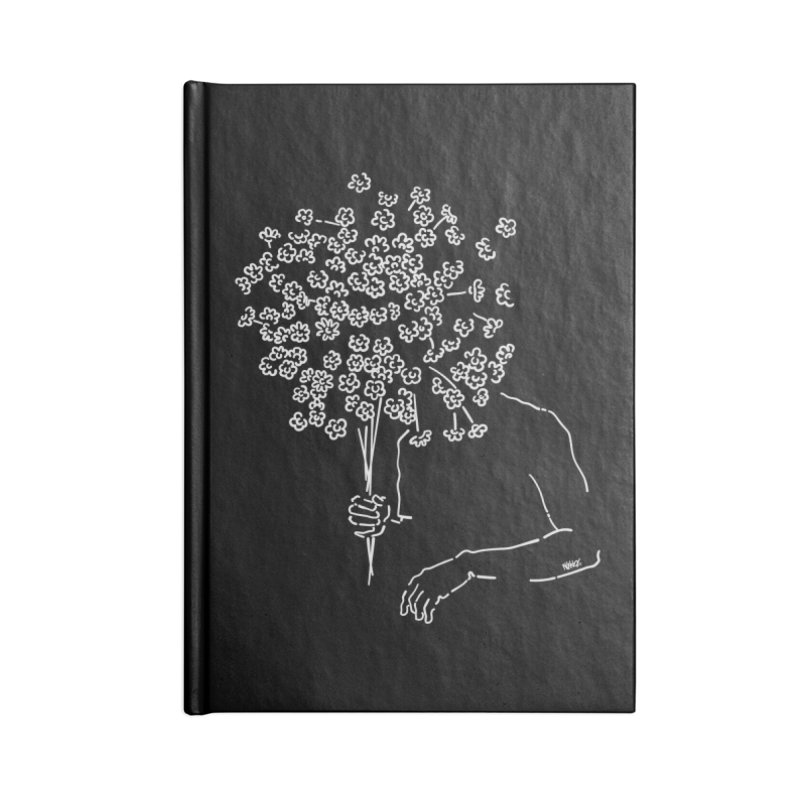 Me flowers Accessories Notebook by ninhol's Shop