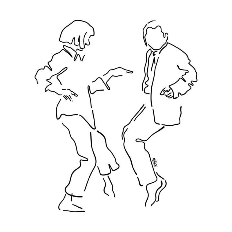 I want to dance Home Fine Art Print by ninhol's Shop