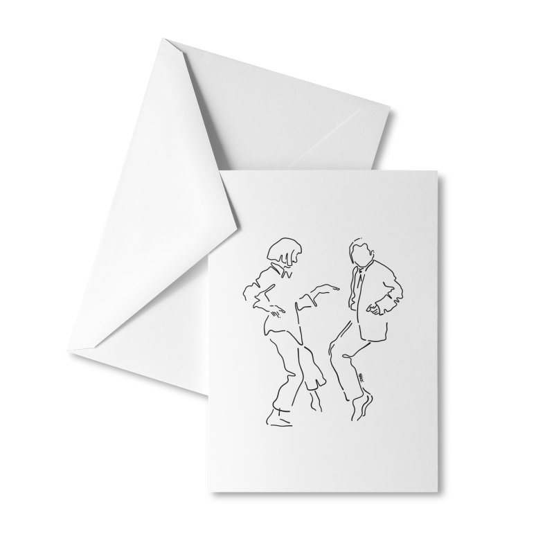 I want to dance Accessories Greeting Card by ninhol's Shop