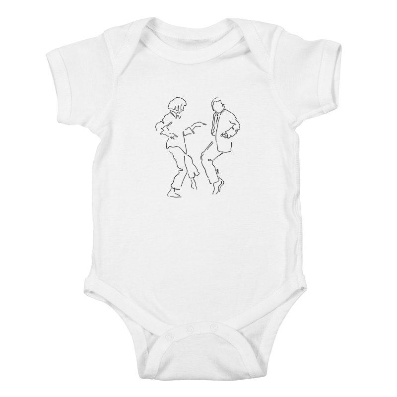 I want to dance Kids Baby Bodysuit by ninhol's Shop