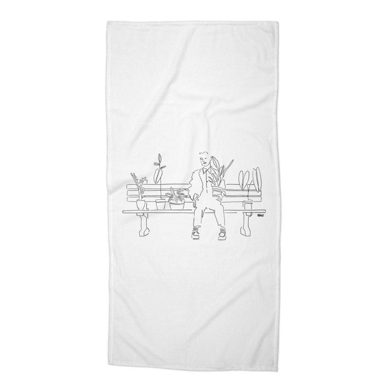 My forrest Accessories Beach Towel by ninhol's Shop