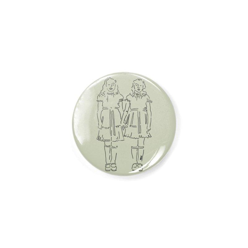 Twins shining Accessories Button by ninhol's Shop