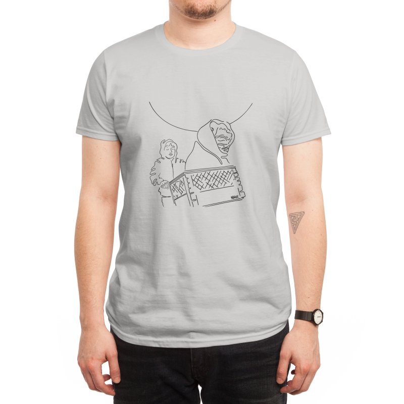 Phone home Men's T-Shirt by ninhol's Shop