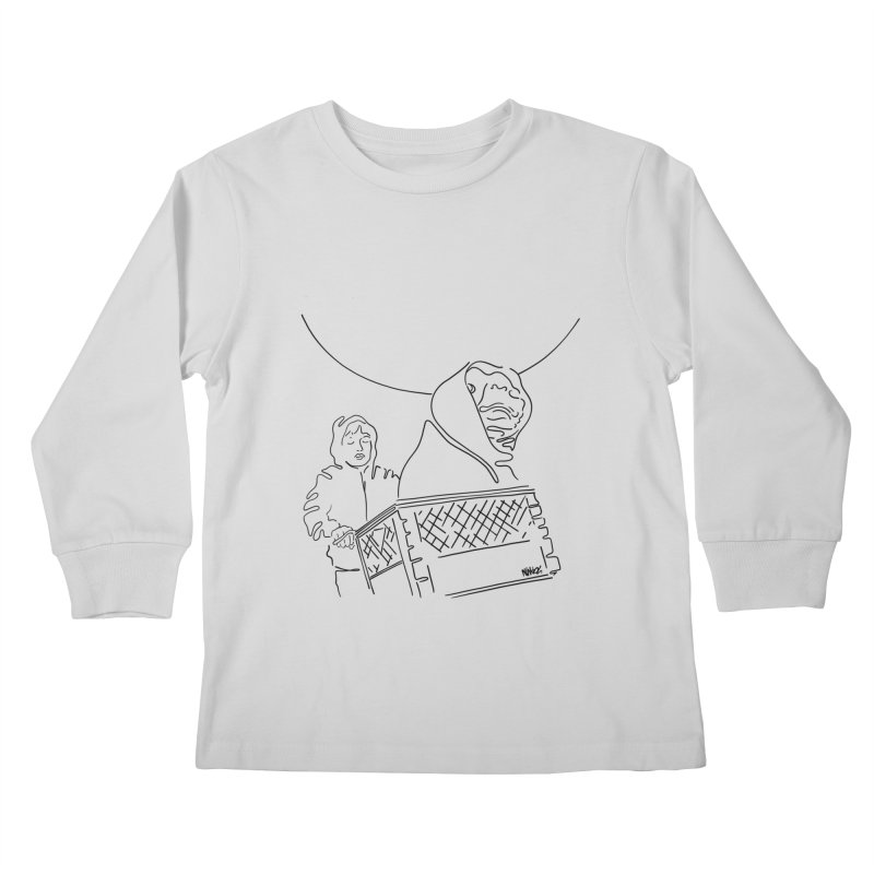 Phone home Kids Longsleeve T-Shirt by ninhol's Shop