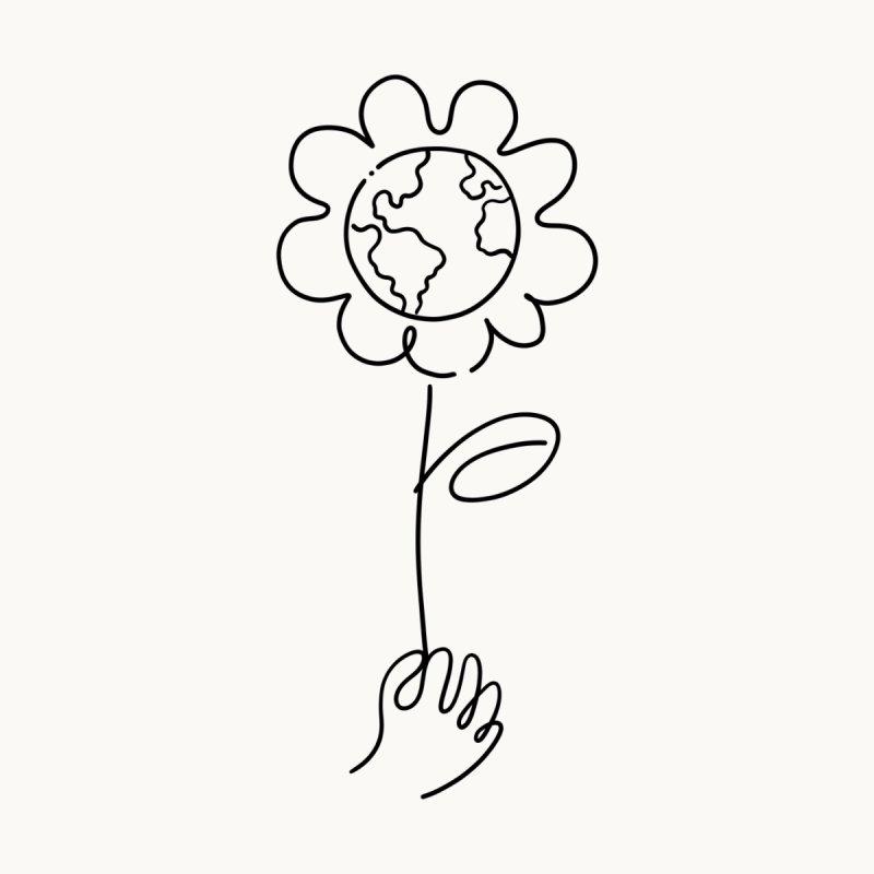 Give Me flowers Women's T-Shirt by ninhol's Shop