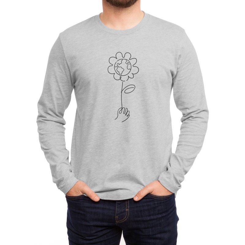 Give Me flowers Men's Longsleeve T-Shirt by ninhol's Shop