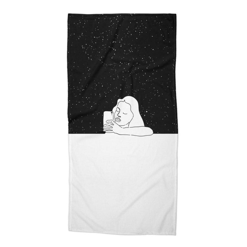 My space Accessories Beach Towel by ninhol's Shop
