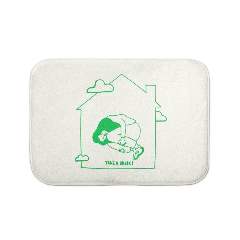 Take a break Home Bath Mat by ninhol's Shop