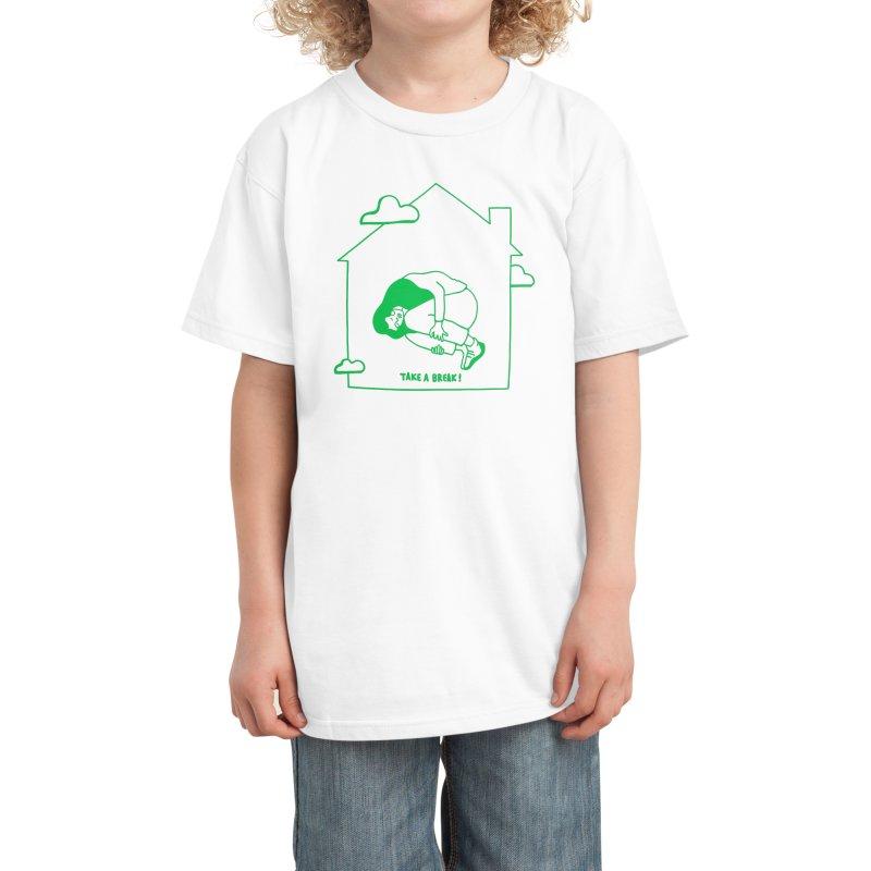 Take a break Kids T-Shirt by ninhol's Shop
