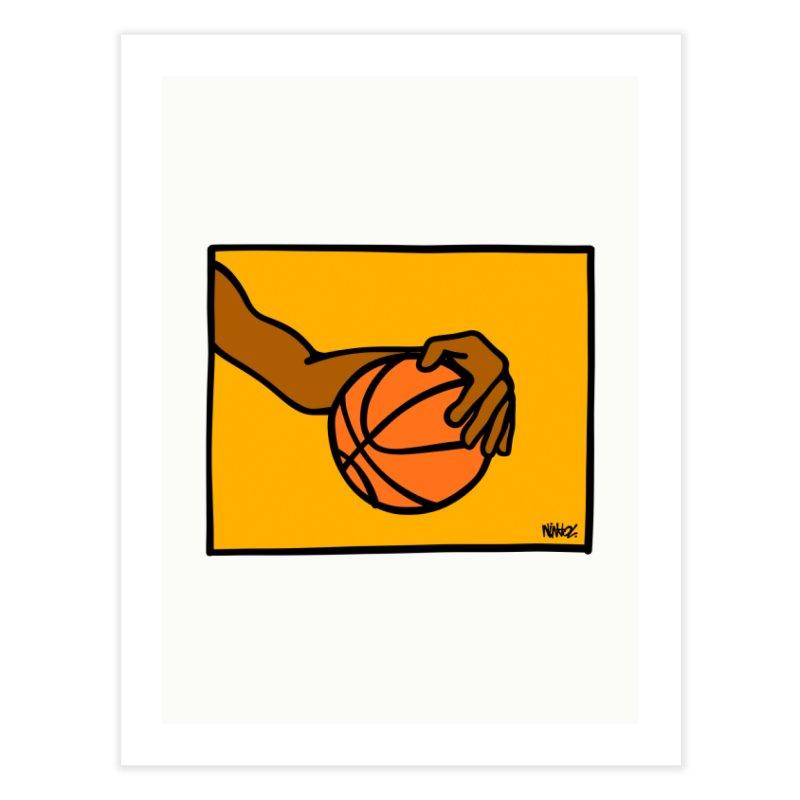 Basketball ART PRINTS Fine Art Print by ninhol's Shop