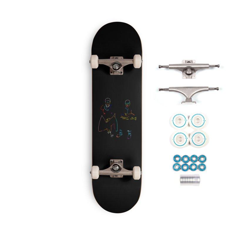 Ella and Louis Accessories Skateboard by ninhol's Shop