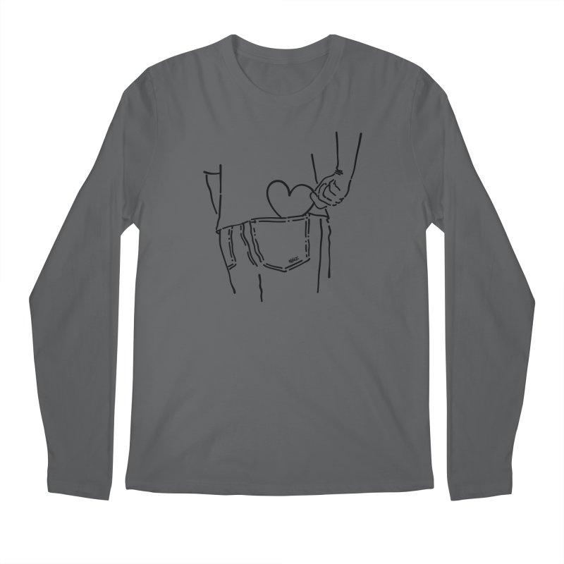 Pocket heart Everyone Longsleeve T-Shirt by ninhol's Shop