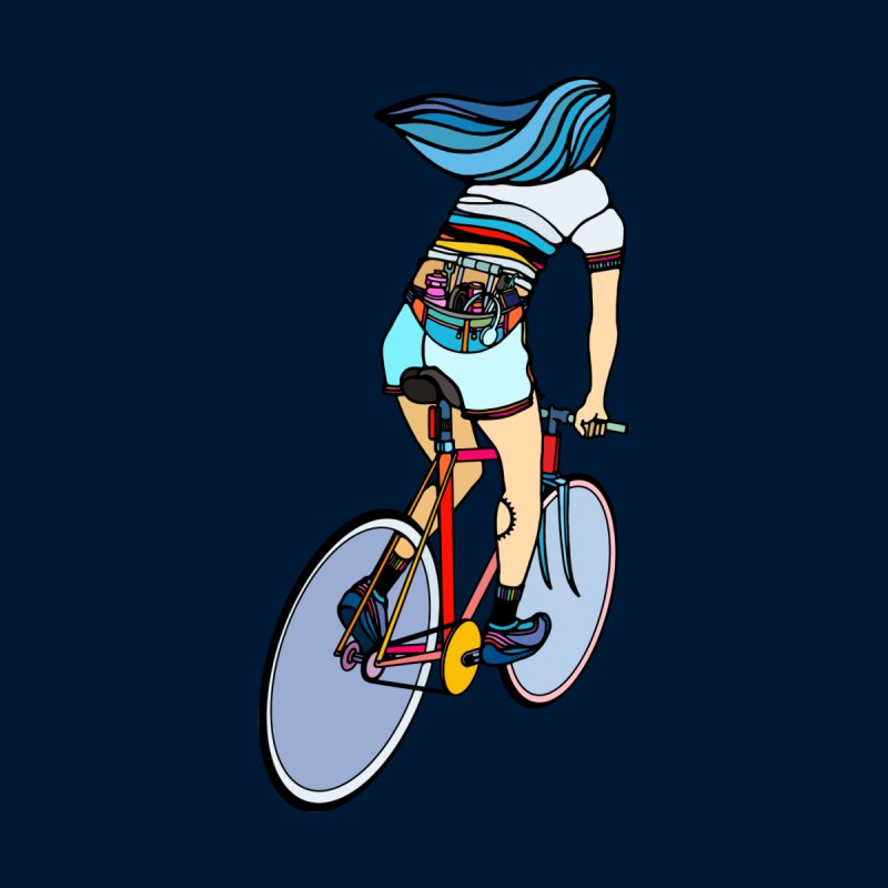 Fixie Girl Accessories Face Mask by ninhol's Shop