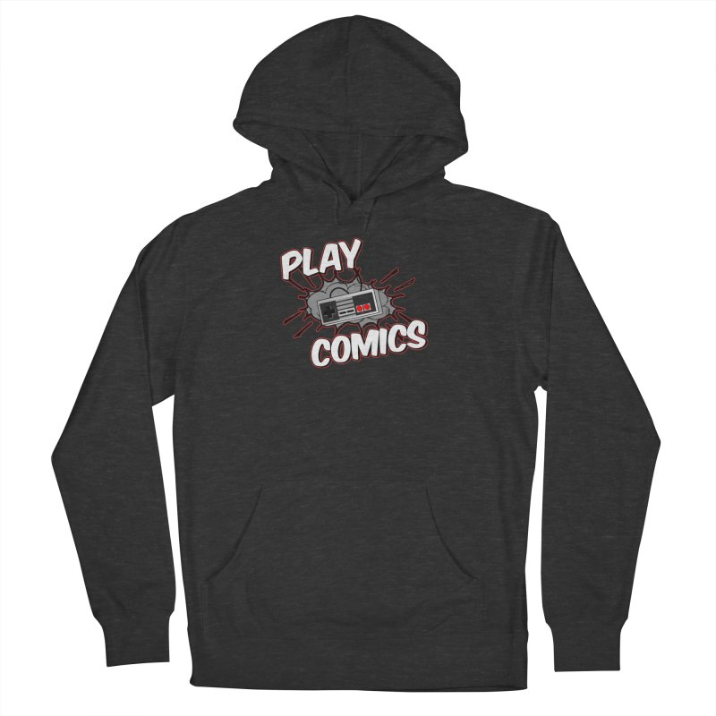 Old School Controller Women's French Terry Pullover Hoody by Ninja Penguin Pods