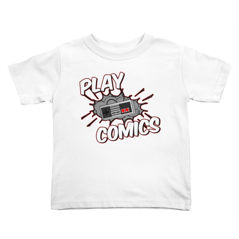 Old School Controller Kids Toddler T-Shirt by Ninja Penguin Pods