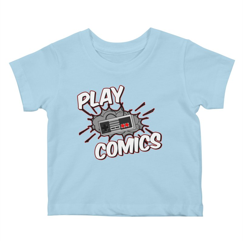 Old School Controller Kids Baby T-Shirt by Ninja Penguin Pods
