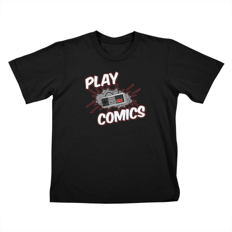 Old School Controller Kids T-Shirt by Ninja Penguin Pods