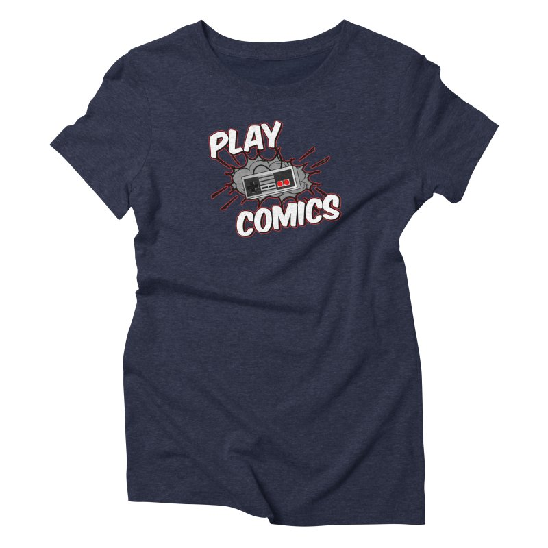 Old School Controller Women's Triblend T-Shirt by Ninja Penguin Pods