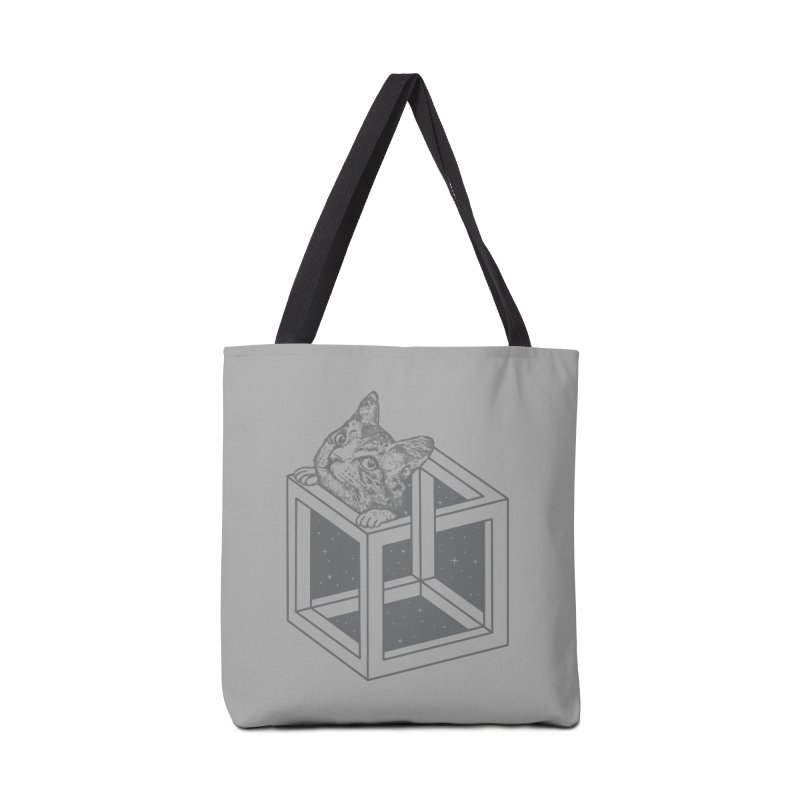 Opticat Illusion Accessories Bag by ninobenito's Artist Shop
