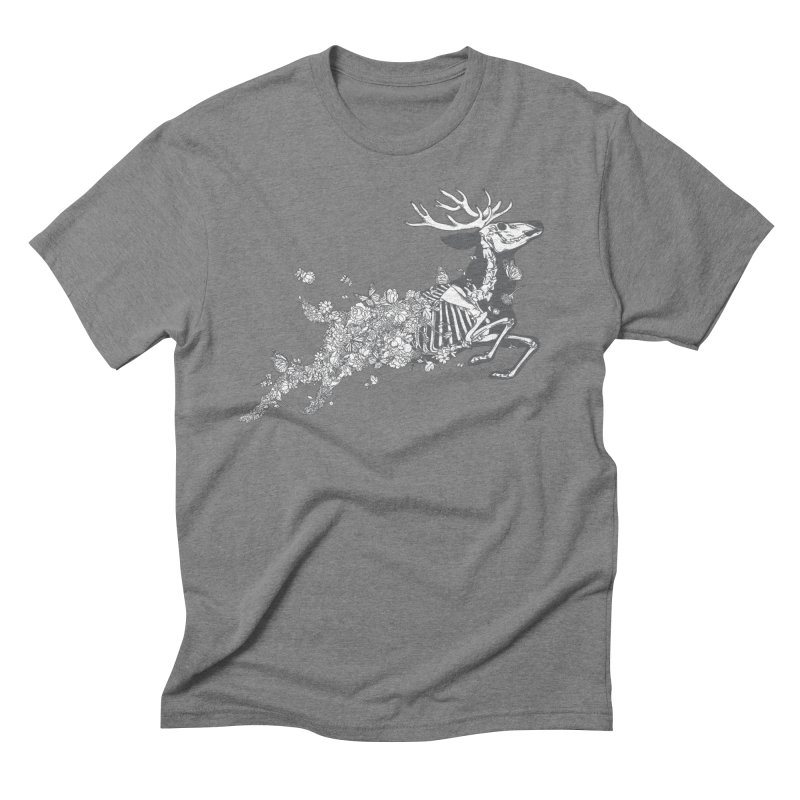 Life and Death in Men's Triblend T-shirt Grey Triblend by ninobenito's Artist Shop