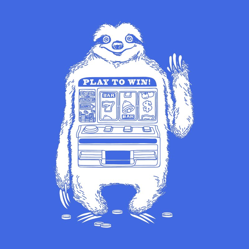 Sloth Machine Men's T-Shirt by ninobenito's Artist Shop