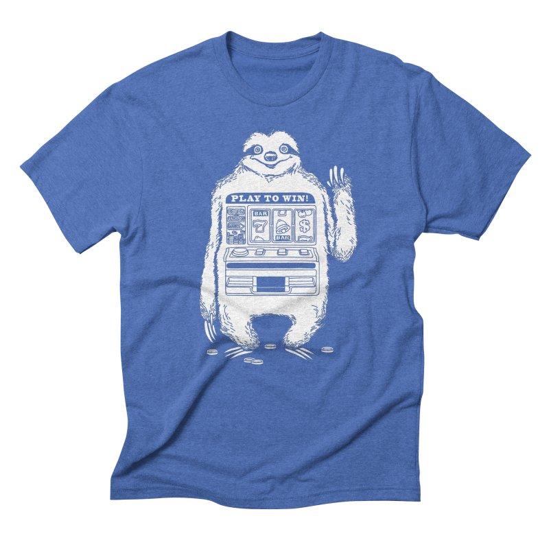 Sloth Machine Men's T-Shirt by ninobenito's Artist Shop