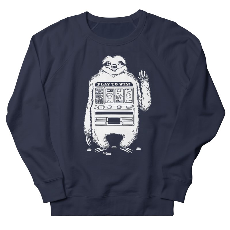 Sloth Machine Men's Sweatshirt by ninobenito's Artist Shop