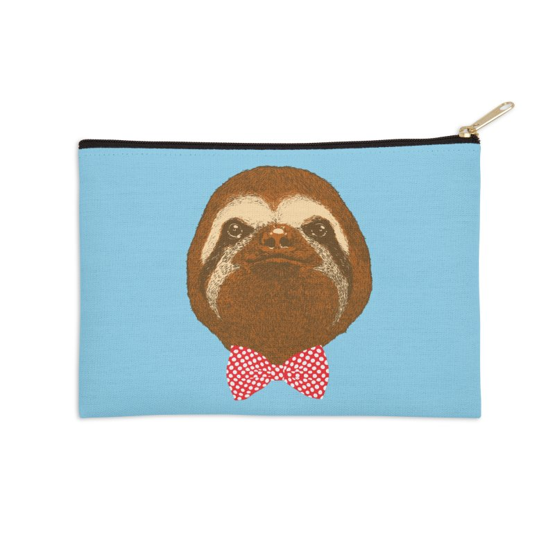 Mr. Sloth Accessories Zip Pouch by ninobenito's Artist Shop