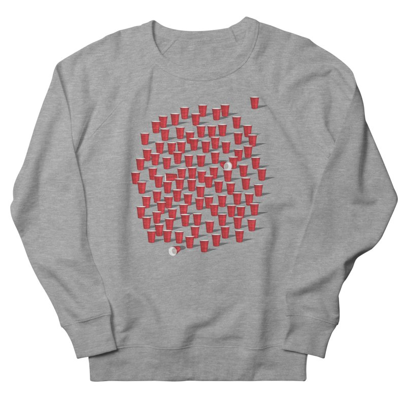 99 Red Cups Men's Sweatshirt by ninobenito's Artist Shop