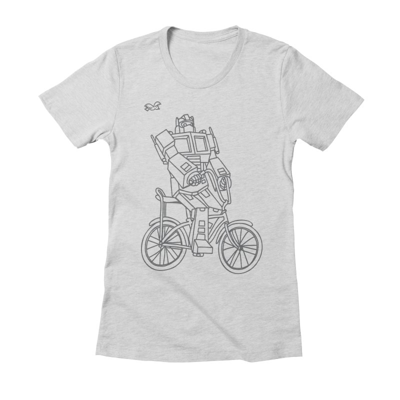 Roll Women's Fitted T-Shirt by ninobenito's Artist Shop