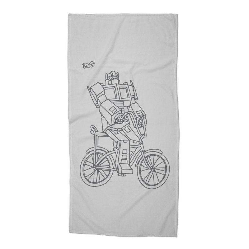Roll Accessories Beach Towel by ninobenito's Artist Shop