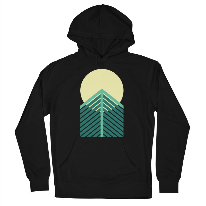Caminos Abiertos al Cambio Logo in Men's French Terry Pullover Hoody Black by Niños con Valor's Artist Shop